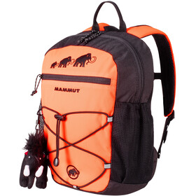 Mammut First Zip Dagrugzak 16L Kinderen, safety orange/black